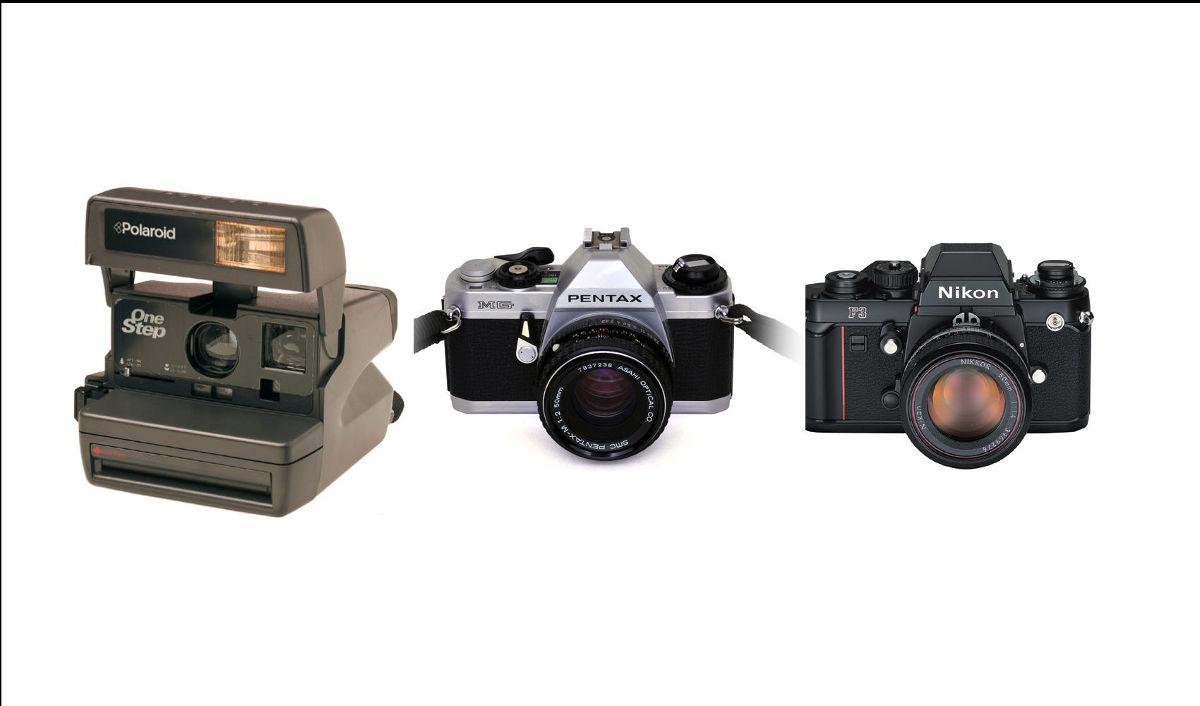évolution des appareils photos