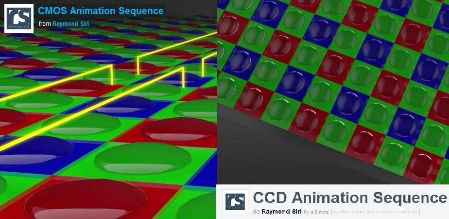 CMOS CCD différences