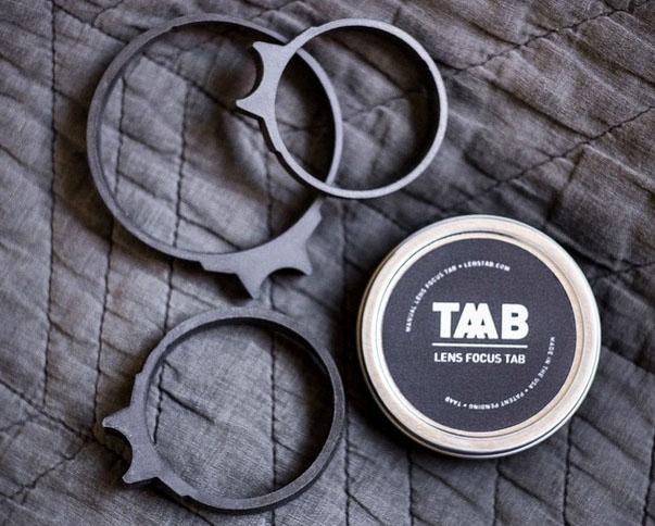 TAAB, bague de mise au point objectif