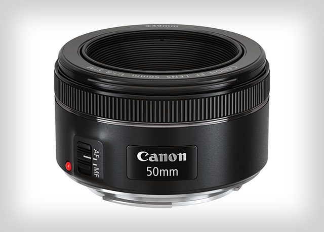 Canon 50mm F/1.8 STM, focale fixe